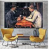 Mmpcpdd Card Players Paul Cezanne Ölgemälde Auf Leinwand