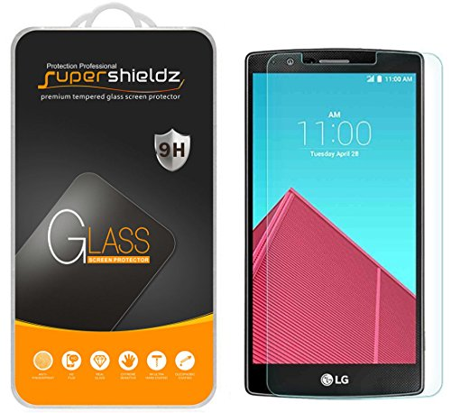 Supershieldz Designed for LG G4 Tempered Glass Screen Protector Anti Scratch, Bubble Free