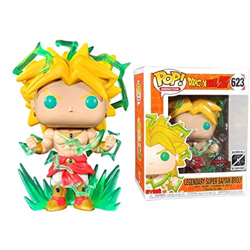 Funko Pop Dragonball - Legendary Super Saiyan Broly #623 Vinyl 6inch Animation Figure Anime Derivatives SuperCollection