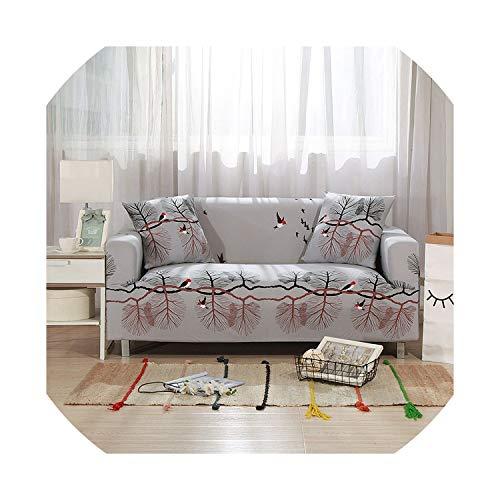 azalea store Beige Sofa-Abdeckung Stretch Möbelbezüge Elastic Sofabezüge für Wohnzimmer Slipcovers für Sessel Couch Bezüge, Farbe 18,2-Seater (145-185cm)