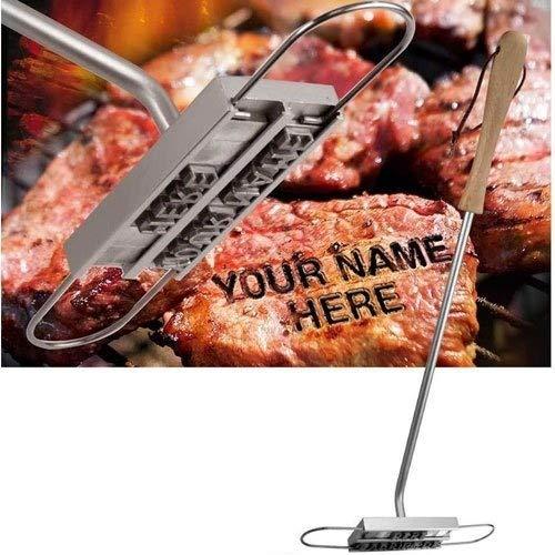Freelogix Barbecue Barbecue L'image de marque Fer Tool Grill Viande Table Hamburger Poule Avec 55 Lettres