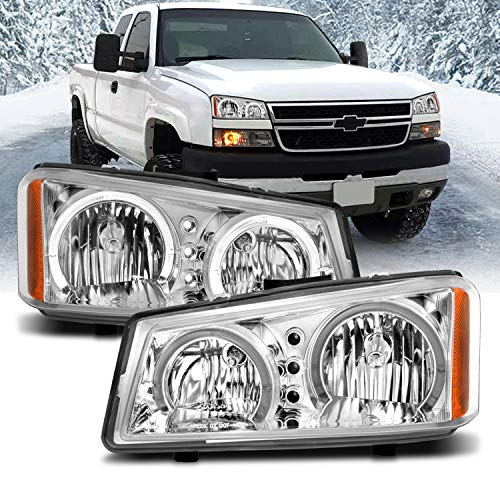 06 chevy halo headlights - 6