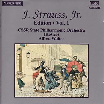 STRAUSS II, J.: Edition - Vol.  1