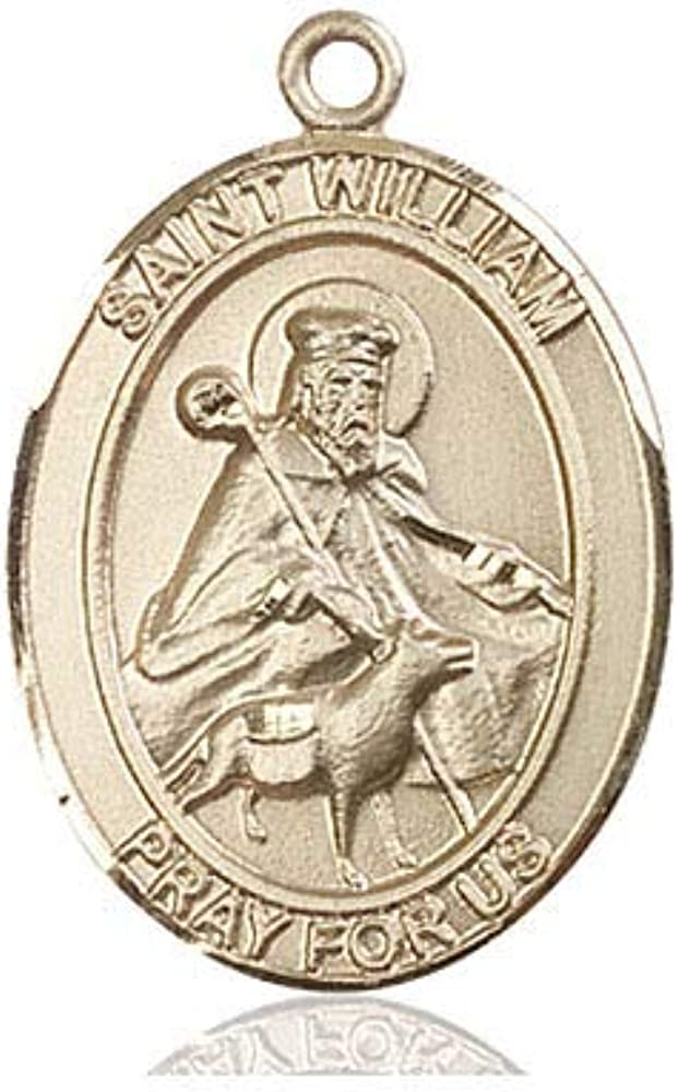 14kt Gold St. Max 70% Fixed price for sale OFF William of Rochester 24 long Medal Inch fill