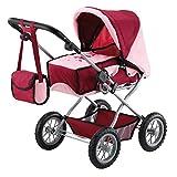 Bayer Design 15014AA Kombi-Puppenwagen Grande, zusammenklappbar, höhenverstellbar, herausnehmbare...