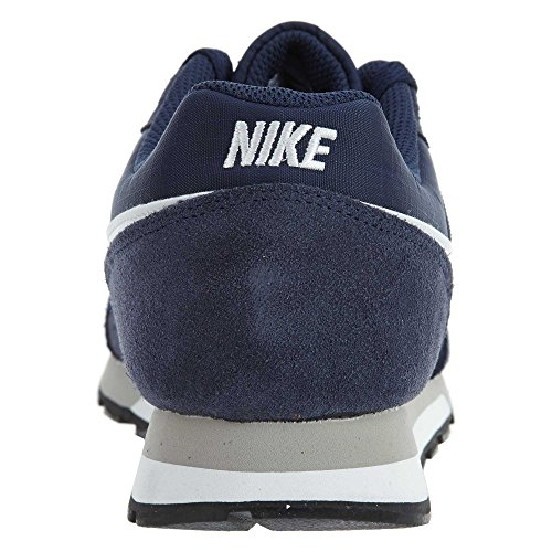 Nike Schuhe MD Runner 2 Midnight Navy-White-Wolf Grey (749794-410) 40,5 Blau