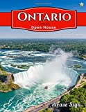 Ontario, Canada Open House: An Open House Guest Book, Guest Registry for the Real Estate Professional that includes spaces for guests' signatures, ... numbers and real estate professional's notes.
