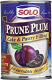 Solo Filling Prune, 12 oz cans (pack of 2)...