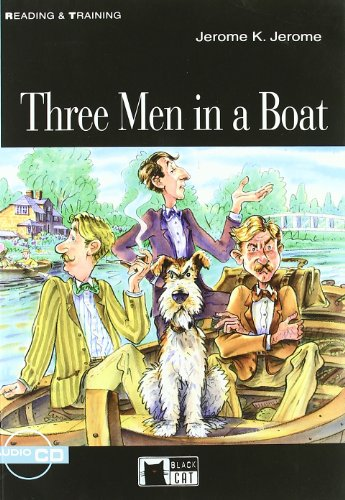 Three Men in a Boat [With CD (Audio)] [Lingua inglese]: Three Men in a Boat + audio CD