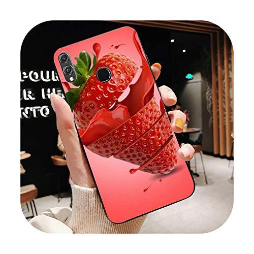 Happy-horse fruta leche fresa arte teléfono caso para Huawei Honor 8X 8A 9 10 20 Lite 30Pro 7C 7A 10i 20i-a7-Para honor7A Ru 5.45