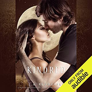 Kindred     The Darkwoods Trilogy, Book 2               By:                                                                                                                                 J. A. Redmerski                               Narrated by:                                                                                                                                 Andrew Eiden,                                                                                        Kate Reinders                      Length: 10 hrs and 9 mins     4 ratings     Overall 4.3