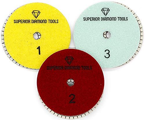 Pulidora Marmol  marca Superior Diamond Tools