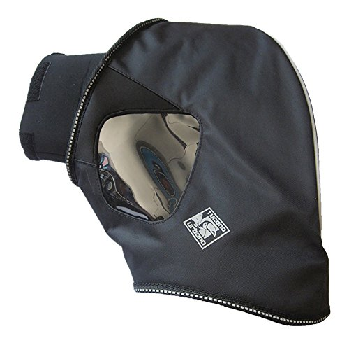 TUCANO URBANO R333N Polyamide Hand Grip Covers - for Most Scooters and Motorcycles Available in The Market, with and Without bar end Weights, Schwarz, Einzig Groesse