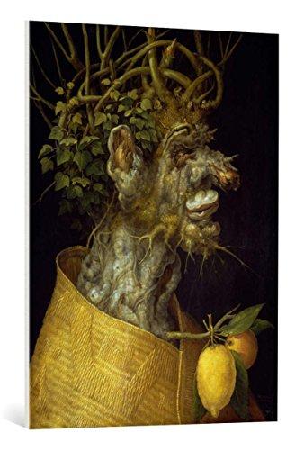 Kunst für Alle Cuadro en Lienzo: Giuseppe Arcimboldo Winter - Impresión artística, Lienzo en Bastidor, 75x100 cm