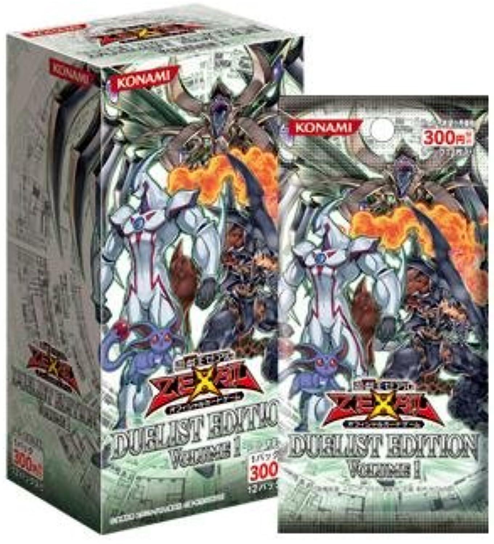 YuGiOh  Zexal OCG Duelist Edition Volume 1 (12packs) (japan import)