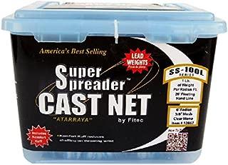 super spreader cast net ss100l