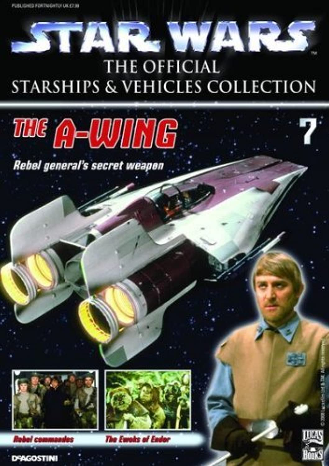 Star Wars Starships &Vehicles Collection  7 The AWing
