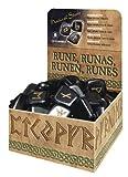 Hematite Natural Stone Runes