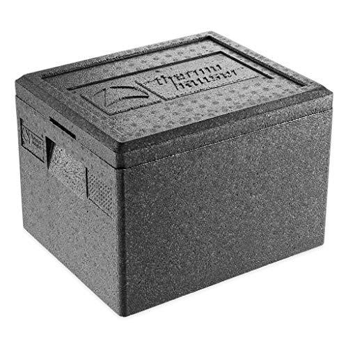 thermohauser EPP-Thermobox GN 1/2 inklusive Deckel - 19 Liter Volumen - 39 x 33 x 28 cm