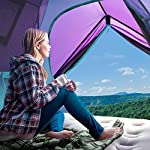 Sable Pop Up Beach Tent Purple, Sun Shelter 2 3 Man Tent for Kids Adults Windproof Waterproof and Quick Set-up, with Carry Bag for Outdoor Garden, Camping, Fishing, Picnic 14