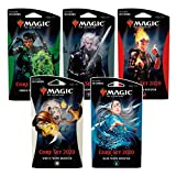 Magic The Gathering C63530000 - Juego de 5 Refuerzos temáticos (2020)