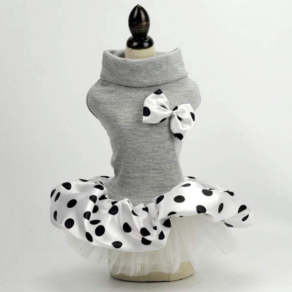 UXZDX CUJUX Spring and Max 67% OFF Summer Cheap bargain Clothes Par Dog Dress Pet Princess