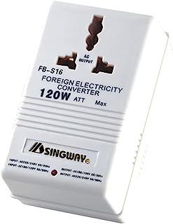 محول الجهد الكهربي من فيك، محول طاقة ايه بي اس 100 واط 110 فولت/120 فولت حتى 220 فولت/240 فولت، محول جهد كهربي مزدوج القناة