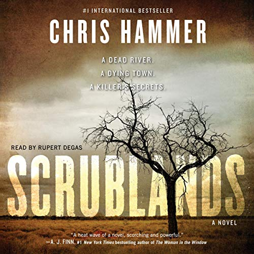 Scrublands audiobook cover art