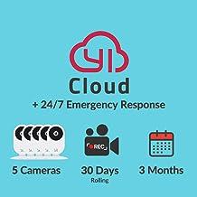 $50 » YI/Kami Cloud Plan 3 Month, 5 Camera, 30d rolling storage service [PC/Mac Online Code]