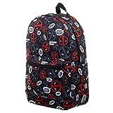 Marvel Deadpool Bag Sublimated Backpack