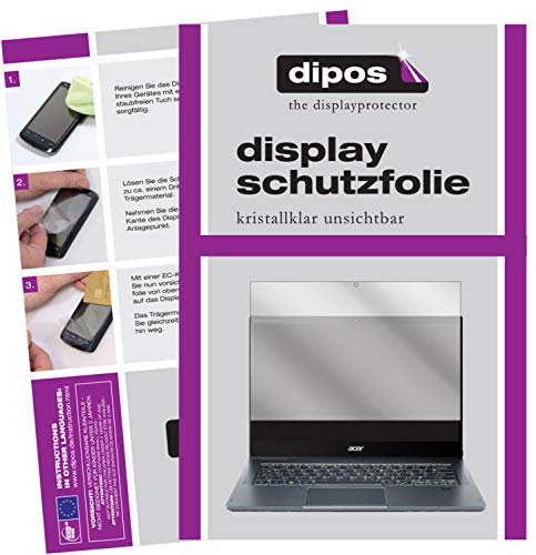 dipos I 2x Screen Protector compatible with Acer Spin 7 5G 14 inch Protection Films clear