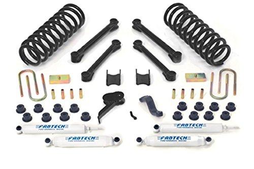 Fabtech K3037 Performance Lift System w/Shocks w/Performance Shocks 4.5 in. Lift Performance Lift System w/Shocks