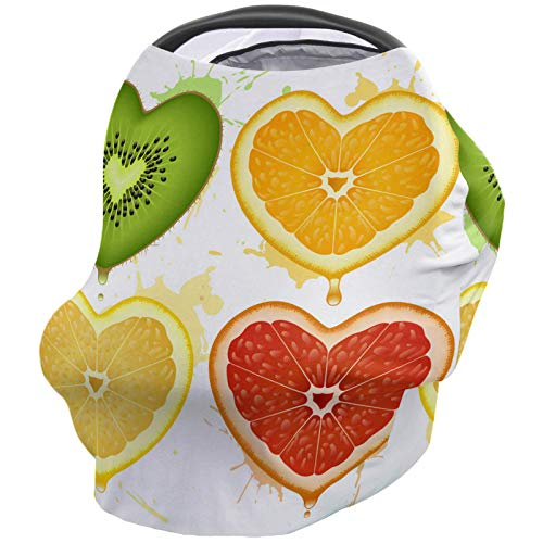 Find Bargain Valentine's Day Nursing Cover for Baby Breastfeeding, Soft Breathable Stretchy Carseat ...