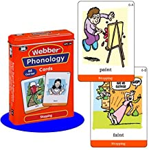 Super Duper Publications Webber Illustrated Phonology Stopping Minimal Pair Card Deck Educational Learning Resource for Children