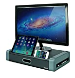 Aidata USA MS-1002G Deluxe Monitor Stand With Drawer