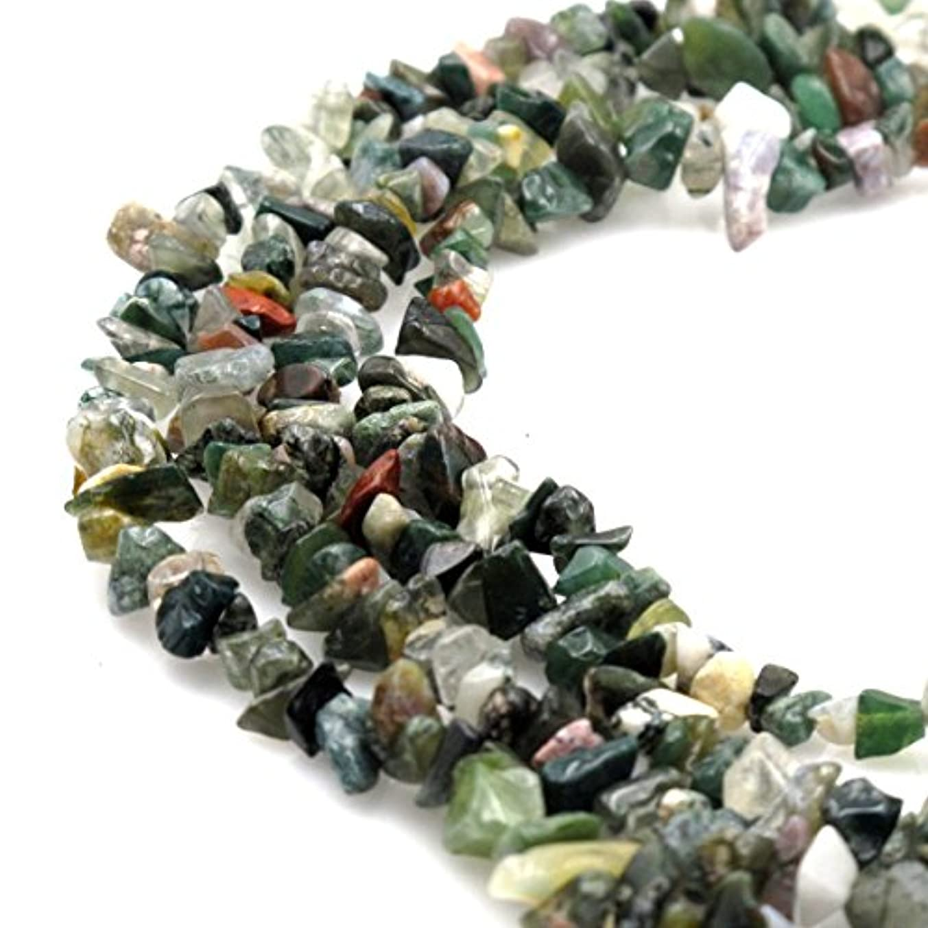 BRCbeads Nice Indian Agate Chips Beads 7~8mm 34 Inches per strand For Jewelery Making