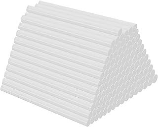 Beeway® Bâtons de colle chaude Φ 11.0mm, emballage 55 11mm x 100mm Mini Bâtonnets de colle chaude, Sticks de colle pour tr...