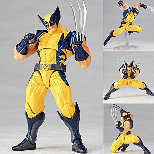 erfgh X War Police, Wolverine, Logan, kann Marionetten bewegenCharacter Toy