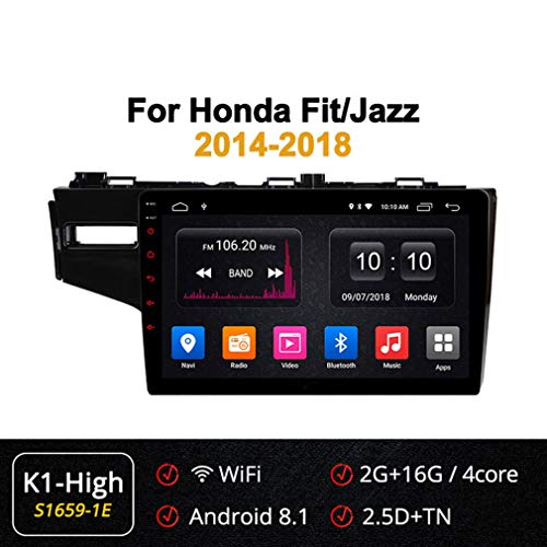 Great Price! XBRMMM 4G 10.1 Inch 8 Core Android Car GPS Navigation for Honda FIT Jazz 2014-2018 Supp...
