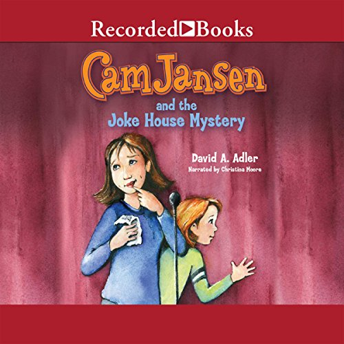 Cam Jansen and the Joke House Mystery audiobook cover art