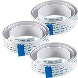 AZDelivery 3 x Cable de cinta flexible de Repuesto Flex Cable FFC 50 cm para Raspberry Pi Camara/Pantalla con E-Book incluido!