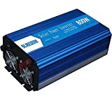 Diossad craftsman drill 800 Watt Power Inverter Dual AC Outlets 12V DC to 110V/240V AC Modified Sine Wave Inverter 12V DC to AC Power, 1600W Surge PeakPower,PowerCharger Inverter with Battery Cl