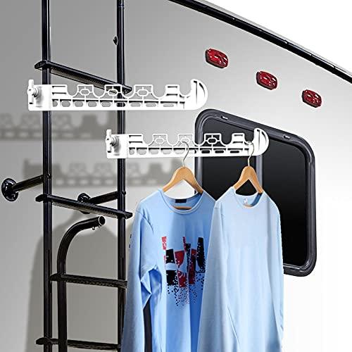 titangear 2 Pcs RV Clothesline, Laundry Drying Rack, Towel Rack,...