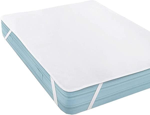Lomsarsh Waterproof Mattress Protector Waterproof Mattress Pad Pillow Cover Four Corner Waterproof Mattress 180 X 200 Cm