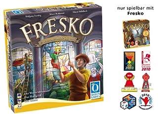 Queen Games 6081 - Fresko Erweiterung 1: Die Glaser, Brettspiel (B0045J10RY) | Amazon price tracker / tracking, Amazon price history charts, Amazon price watches, Amazon price drop alerts