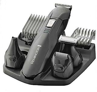 Remington Edge PG6030 – Recortador de Barba y Cortapelos, 6 Accesorios y Barbero, Inalámbrico, Lavable, Apto para Vello de...
