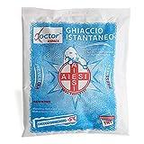 AIESI Hielo instantáneo desechable en TELA NO TEJIDA tamaño 14x18 cm DOCTOR ICEPACK (Paquete de 25 piezas) # Made in Italy
