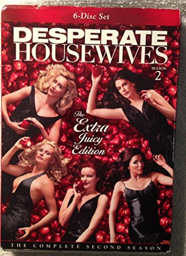 DESPERATE HOUSEWIVES-2ND SEASON (EXTRA JUICY EDITION) (DVD/6 DISC) DESPERATE HOUSEWIVES-2ND SEASON