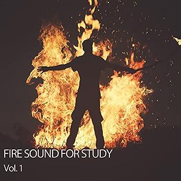 Fire Sound For Study Vol. 1