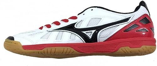 Chaussures de football en salle indoor, indoor, Mizuno Sala Premium in blanc q1ga155009  rentable